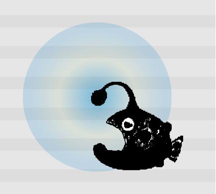 黒の乗算 シアンのグラデーション ほかの色が混ざる